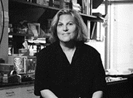 Black and white picture of Cathy Mendelsohn, Ph.D.