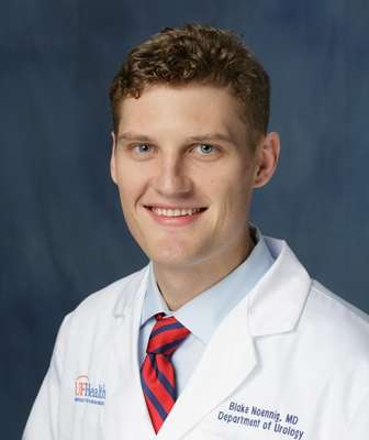 head shot of doctor Blake Noennig