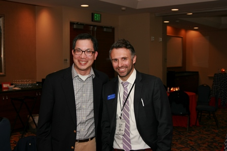color photo of doctors M. Louis Moy and Brandon Otto