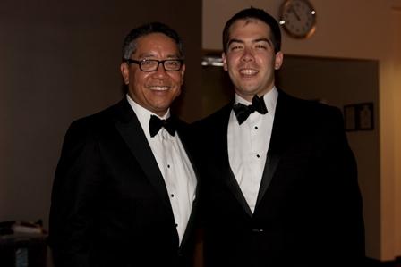 color photo of doctors Li-Ming Su and Akira Yamamoto