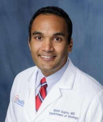head shot of doctor Mohit Gupta