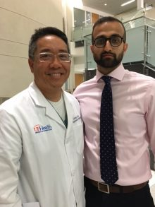color photo of doctors Li-Ming Su and Paulas Vyas