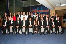 group photo of uf urology residents and faculty