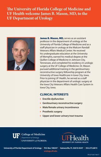 dr jb mason information flyer