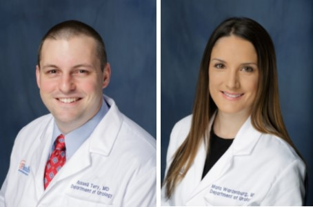 head shots of doctors Russell S. Terry and Marla Wardenburg