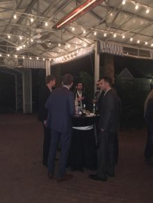 pictures from holiday reception