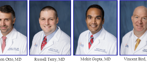 head shots of doctors Brandon J. Otto, Russell S. Terry, Mohit Gupta and Vincent G. Bird