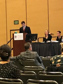 UF UROLOGY RESIDENT GIVING PRESENTATION AT THE AUA
