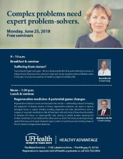 flyer for monday june 25th free seminar