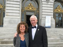 PICTURE OF DR AND MRS TOM (LEAH) STRINGER