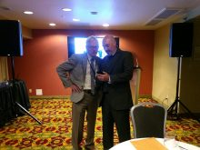 picture of drs stringer and gilbert