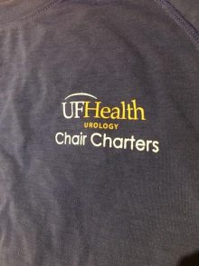 picture of logo uf health urology chair charter