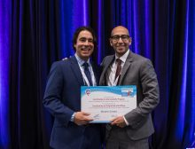 Dr. Canales at the CUA 2018 ANNUAL MEETING