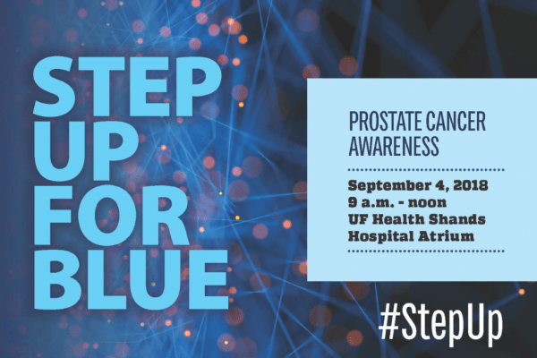 prostate cancer awareness event flyer