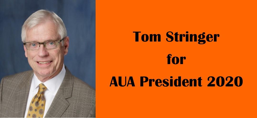 tom stringer for aua president