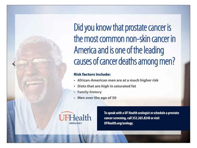 prostate cancer information flyers