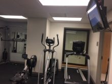 pict of On-Site Gym for House Staff in UF Health Shands Hospital