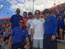 UroGators Alumni at football game