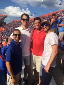 dr. vyas, yamamato, ellen and brafman and football game