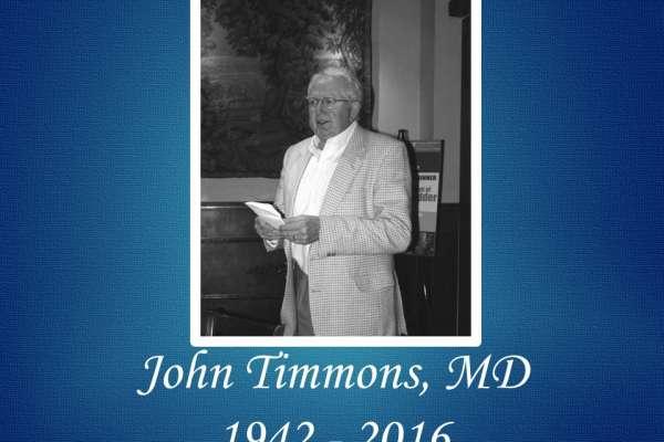 IN MEMORIAM JOHN TIMMONS