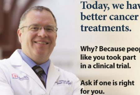 ask me about cancer treatment options picture with dr crispen