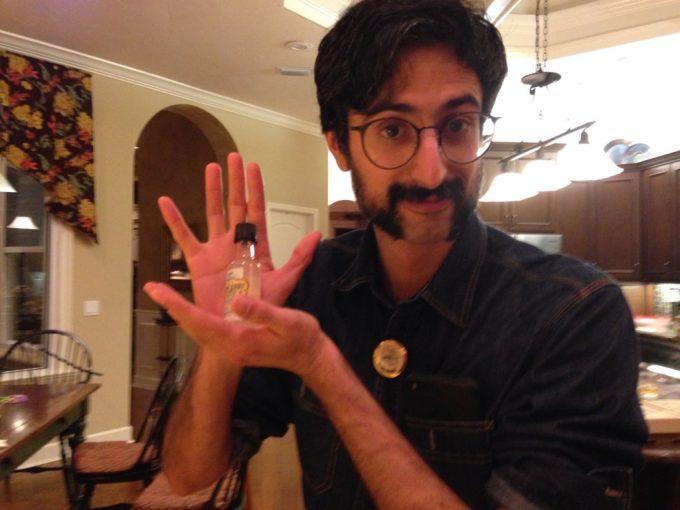 dr. batra at the november shave off party