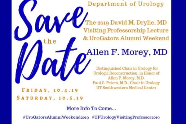 2019 visiting professor save the date