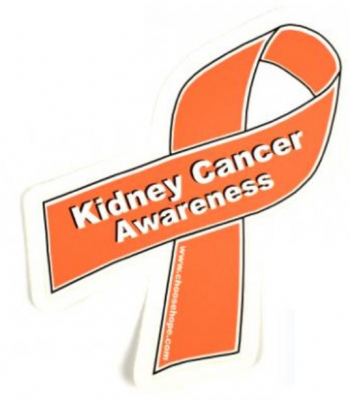 kidney cancer ribbon