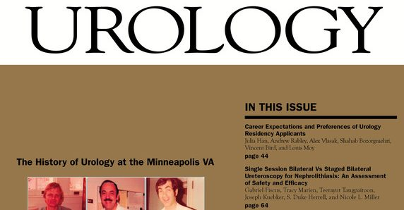 cover of Urology Magazine
