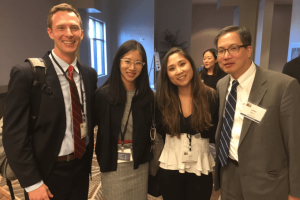 picture of Drs. Rabley, Kuo, Han and Moy