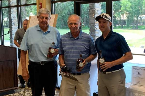 picture of guests from the Rick Croton Memorial Golf Tournament for Prostate Cancer Research