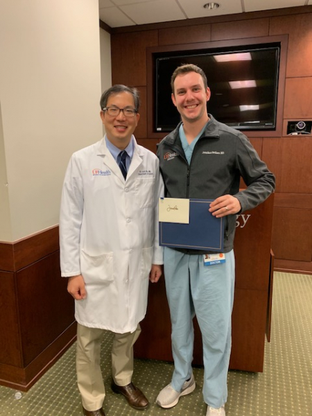 picture of dr pavlinec and dr moy
