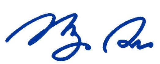 Picture of Li-Ming Su's signature