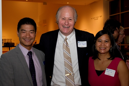 doctor algood with former residents doctor yeung and le