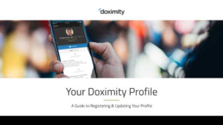 picture of doximity profile information