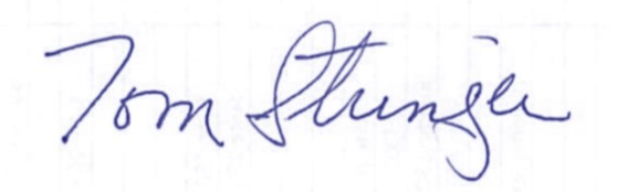 an image of doctor stringers signature