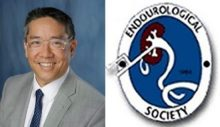 picture of dr su and endo society logo