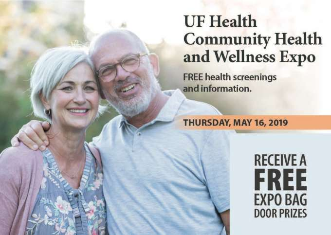 picture of uf health and wellness expo flyer
