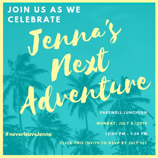 picture of luncheon invite for jenna foster