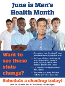 picture of june's health month flyer