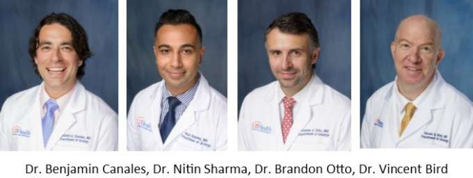 picture of drs canales, sharma, otto and bird