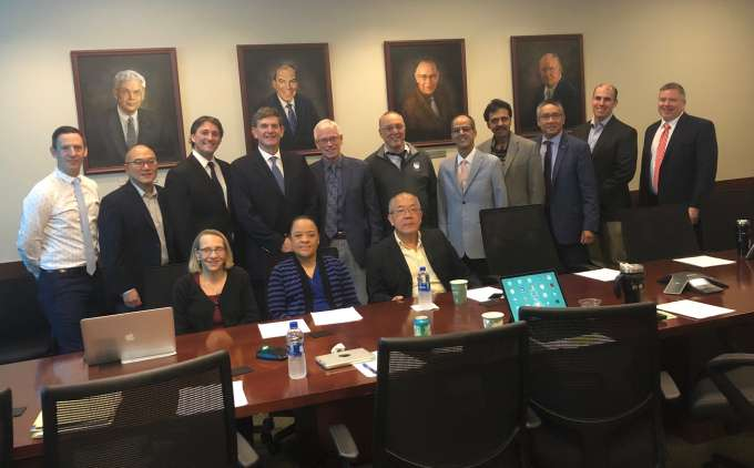 Florida Prostate Cancer Advisory Council members at the annual meeting
