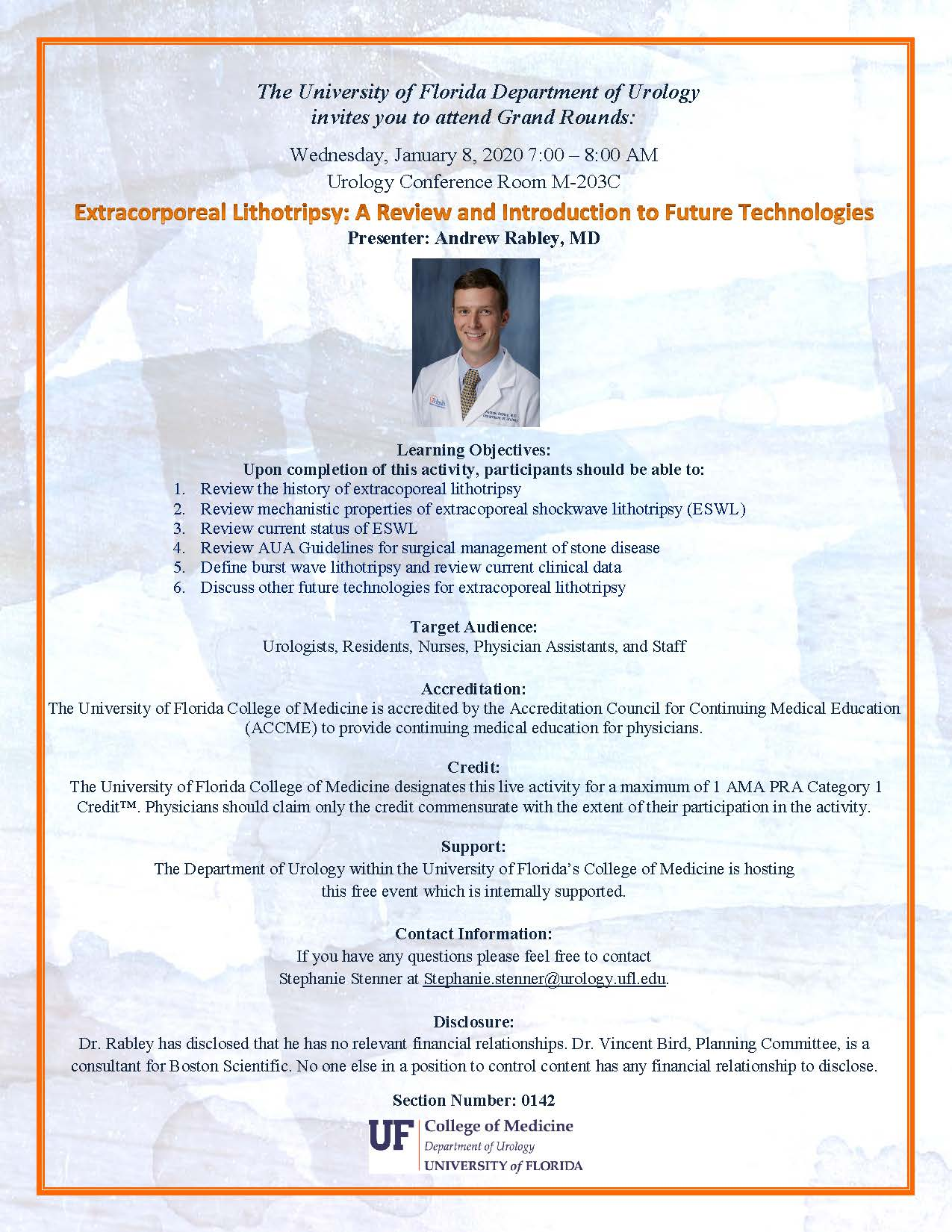 flyer for grand rounds